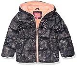 Pink Platinum Girls' Puffer Jacket, Black, 6X