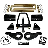 TORCH 3' Front 2' Rear Lift Leveling Kit For 2001-2010 Chevy GMC Sierra Silverado 2500HD 2500 3500 w/Tool