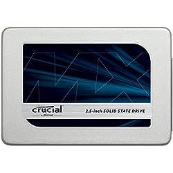 Crucial MX300 CT2050MX300SSD1 SSD Interno, 2 TB, 3D NAND, SATA, 2.5 Pollici