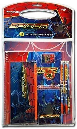 precio al por mayor Spider Venom 11 Piece Stationary School Art Set by by by Spider  comprar barato