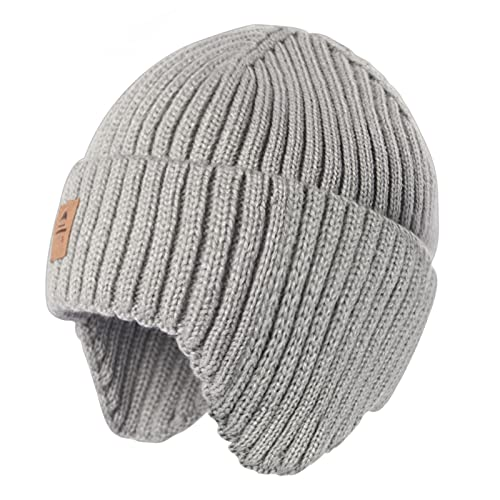 Baby Beanie Fleece Lined Toddler Winter Hat with...