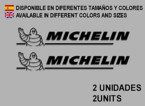 Ecoshirt 77-4HVS-9ZJ2 Aufkleber Stickers Puppe Michelines F24 Aufkleber Decals Autocollants Adesivi, schwarz