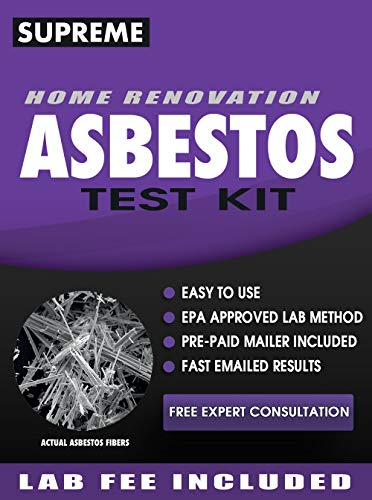 Asbestos Test Kit - Includes Asbestos Test Kit Lab Analysis,...