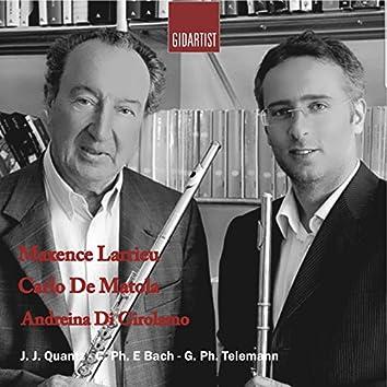 Maxence Larrieu, Carlo De Matola, Andreina Di Girolamo