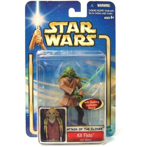 Star Wars 2002aotc Kit Fisto Carded