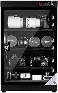 INTBUYING 80L 4 Layers Camera Lens Dehumidifying Dry Cabinet Digital Control Dry Box Noiseless Energy Saving Storage for C...