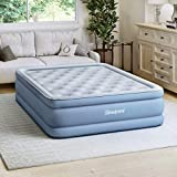 Simmons SB9517PLEXPDB Beautyrest Posture-Lux Express Air Bed, Cushioned Support, Adjustable Comfort Control, Hands-Free Pump, 15' Full, Blue