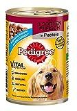 Pedigree Adult Hundefutter 3 Sorten Fleisch, 12 Dosen (12 x 400 g) - 2