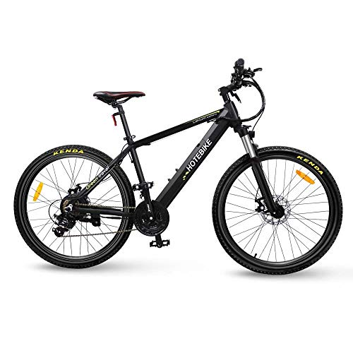 HOTEBIKE Powerful Electric Mountain Bike, 27.5 inch Electric Bicycle 350W 36V EBike with Hidden...