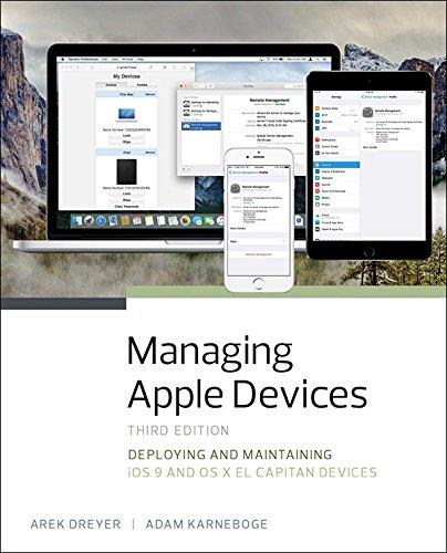 classement un comparer Gestion des appareils Apple: approvisionnement et maintenance des appareils iOS 9 et OS X El Capitan