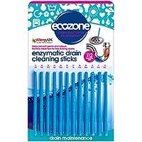 Ecozone EZ4 - Varitas enzimáticas para limpiar tuberías (12 unidades, un paquete dura todo el año)