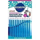 Ecozone EZ4 Pack de 12 bâtonnets de débouchage par méthode enzymatique pour 1 année complète