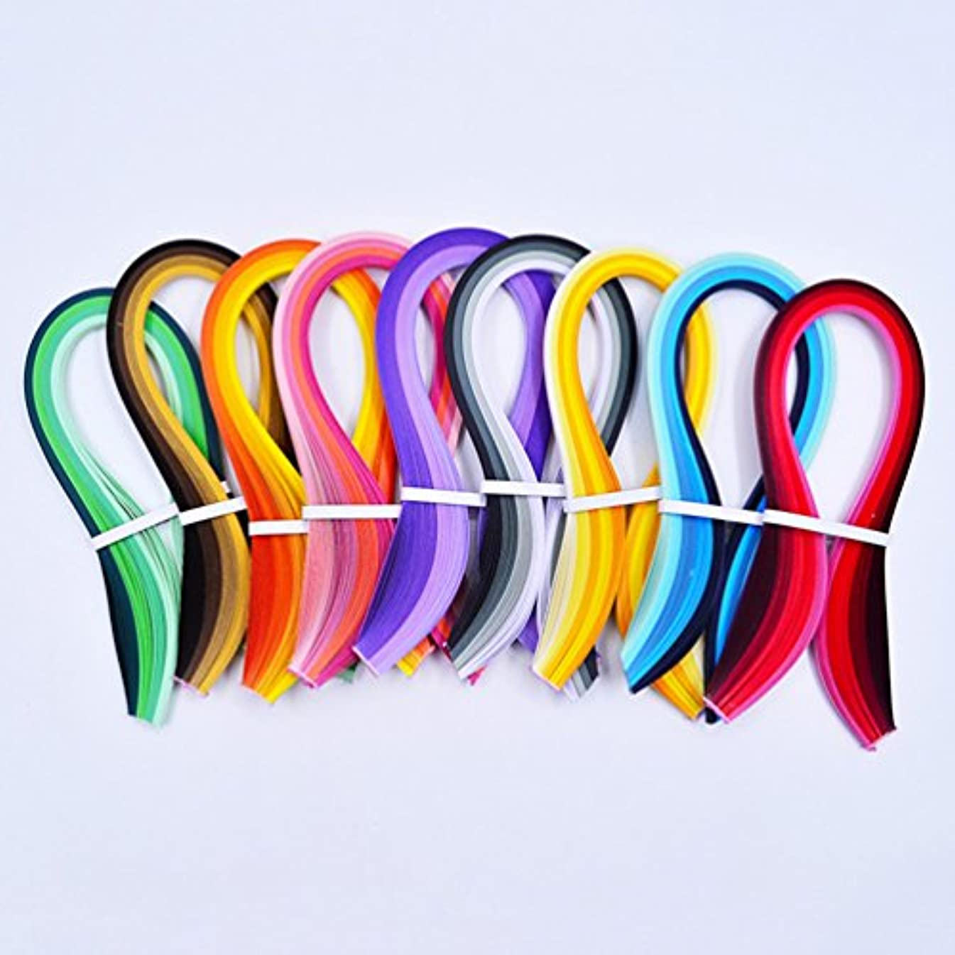 10mm x 39cm Paper Quilling Strips Kits 900 Strips