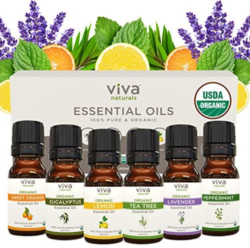 Viva Naturals Peppermint Essential Oil