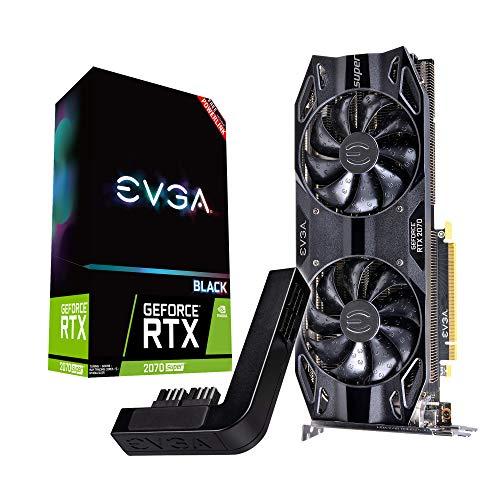 EVGA GeForce RTX 2070 Super Black Gaming, 8GB GDDR6 + PowerLink 08G-P4-3071-Kp