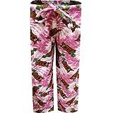 Underboss Women's Scooby Doo Pink Tie Dye Plush Lounge Pants (X-Large)