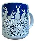 Taylor & Ng 50681 Animates 11 oz Blue Nitetime Rabbits Mug