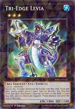YU-GI-OH! - Tri-Edge Levia  BP03-EN132  - Battle Pack 3  Monster League - 1st Edition - Shatterfoil