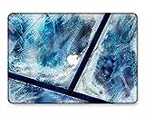 GangdaoCase Carcasa rígida de plástico ultra delgada y ligera, diseño recortado para MacBook Pro 13 pulgadas Retina Display No CD-ROM A1425/A1502 (Colorido B 122)