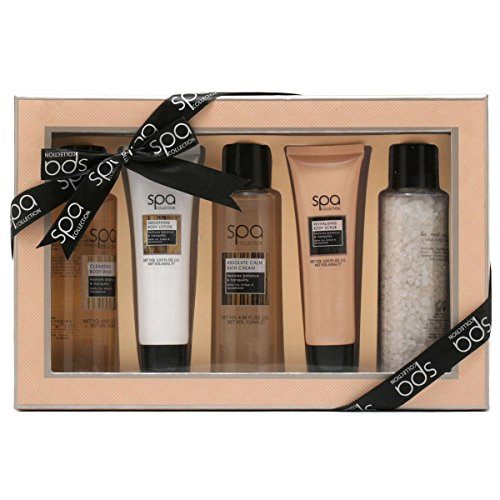 Style & Grace Spa Tranquil Bath and Body Treats Gift Set 60ml Smoothing B/Lotion + 60ml Revitalising