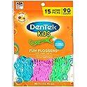 90-Count DenTek Kids Fun Flossers, Wild Fruit