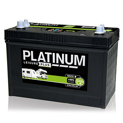 Platinum 12V 110AH SD6110L HD Deep Cycle Leisure Plus Battery - 40% Extra Power - Dual Purpose (Starting & Auxiliary) Deep Cycle Battery - 3 Years Warranty