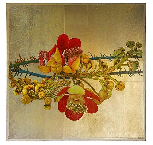 Cannonball Tree, Original Gemälde, Brigitte Smith, 100 x 100 cm