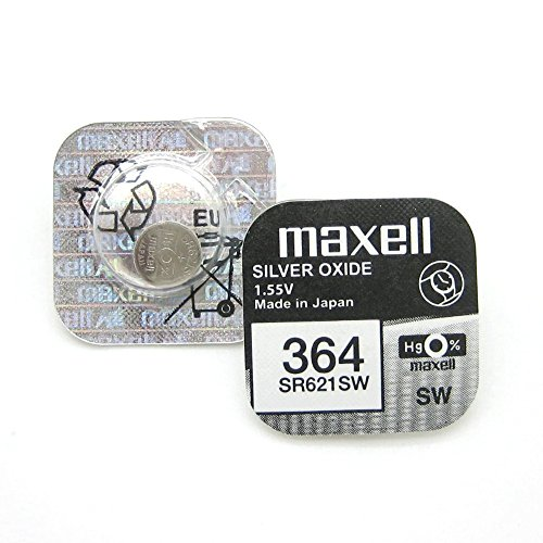 Maxell SR621SW Silver Oxide Batterie