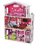 Eco Toys Puppenhaus Residenz Malibu Puppenstube Holz Malibu NEU 4118
