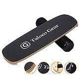 Tablas de Equilibrio Interior Yoga Fitness Tabla de Equilibrio Tabla de Madera Skate Ejercicios de Entrenamiento y coordinación de Equilibrio