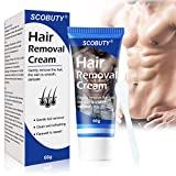 Hair Removal Cream,Tough Hair Cream,Depilatory Cream,Used on Legs & Body Part Skin Friendly Painless...