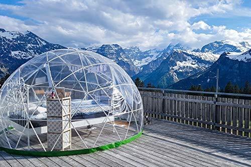 Jochen Schweizer Geschenkgutschein: Übernachtung im Bubble-Hotel in den Glarner Alpen für 2