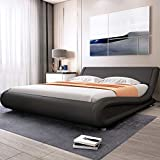 Best King Size Beds - Allewie King Size Bed Frame with Curved Adjustable Review