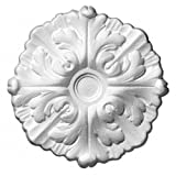SAD 10251 - Rosetta D10, Ø 22 cm, modello Daphne, Bianco (Clair)