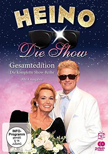 Heino - Die Show: Gesamtedition. Die komplette Show-Reihe - Alle 4 Ausgaben [2 DVDs]