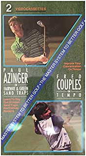 Paul Azinger on Fairway & Green Sand Traps/Fred Couples on Tempo VHS