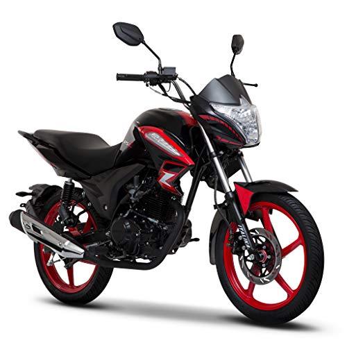 Motocicleta Italika de Linea Z- Modelo 125Z Rojo Negro