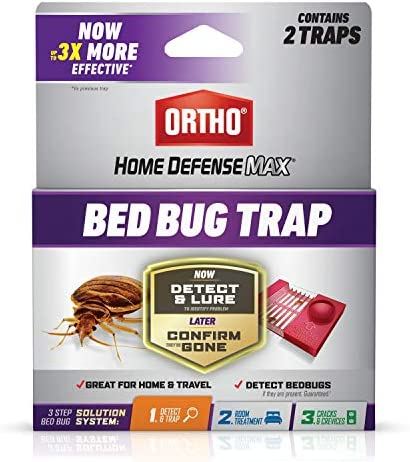 Ortho 0465705 Home Defense Max Bed Bug Trap Use in Your House or When Traveling Part of a 3 product image