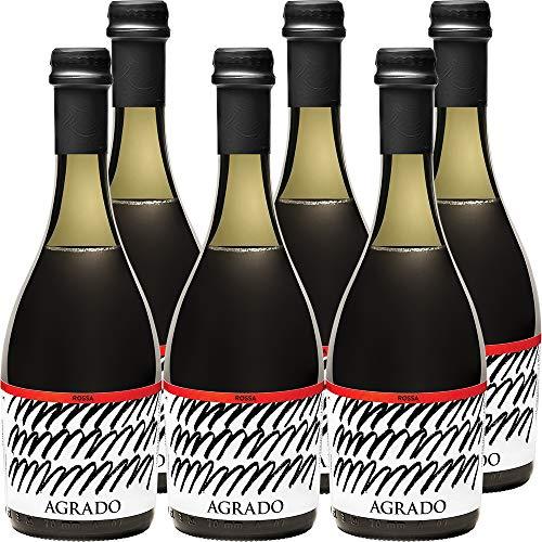 Rossa Agrado | Birra Artigianale dei Monti Picentini e della Dieta Mediterranea | Eccellenza Campana | Alta Qualità | Confezione 6 Bottiglie da 33 cl | Idea Regalo
