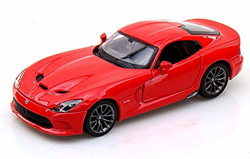 Maisto 2013 Dodge SRT Viper GTS, Red 31271 - 1/24 Scale diecast Model car