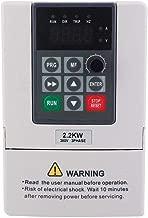 380VAC 6A Frequenzumrichter VFD Drehzahlregler für 3-phasig 2,2kW AC Motor