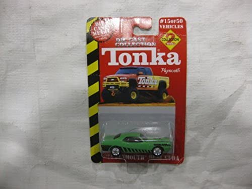tienda de venta TONKA TONKA TONKA DIE CAST COLLECTION -- Collection  2 verde '71 Plymouth HEMI 'Cuda ( 15 of 50 Vehicles) by Racing Champions  marca de lujo