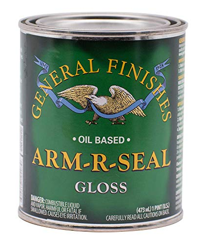 General Finishes Arm-R-Seal Oil Based Topcoat, 1 Pint, Gloss -  AGPT