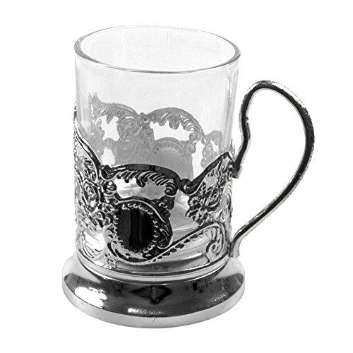 Olymp Teeglashalter Schnellzug (mit Teeglas 200 ml)