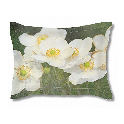 King Pillow Sham   Custom Pillow Sham   Custom Bedding Set   Cottage Chic Romantic Floral   Standard Pillow Sham   Wedding Gift   New Home Gift