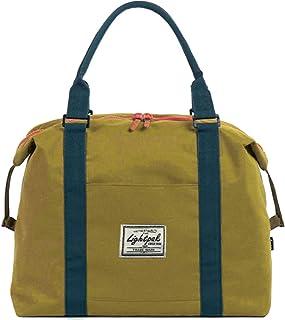 Lightpak Damentasche SWEETBOX, Damen Handtasche aus Polyester, Henkeltasche mit separatem Handyfach Sporttasche, 36 cm, Gelb