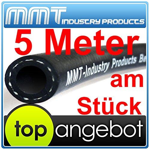 MMT-Industry Products KRAFTSTOFFSCHLAUCH - 5 Meter - 6 x 12mm - BENZINSCHLAUCH - DIESELSCHLAUCH - TREIBSTOFFSCHLAUCH nach DIN73379-2A