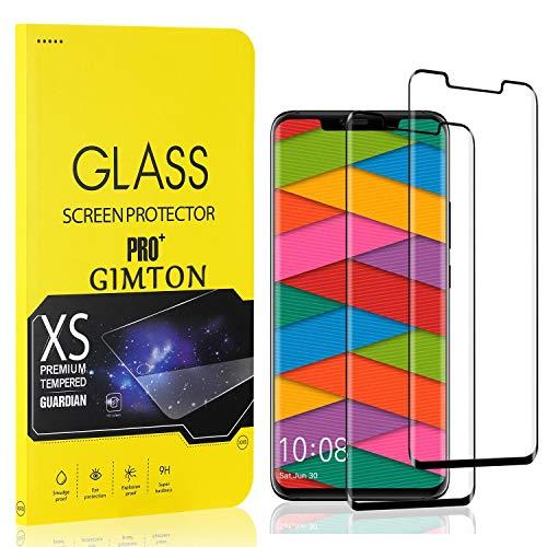 GIMTON Displayschutzfolie für Huawei Mate 20 Pro, 9H Härte, Anti Bläschen Displayschutz Schutzfolie für Huawei Mate 20 Pro, Einfach Installieren, 2 Stück