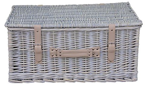 Red Hamper Provence 50cm Empty Picnic Basket