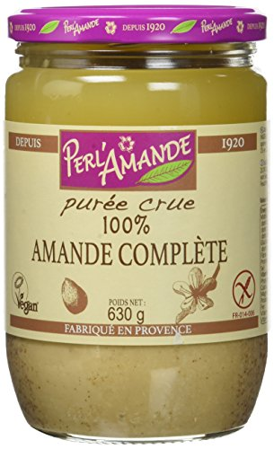 PERL'AMANDE Purée Amande Complète Bio 630 g,